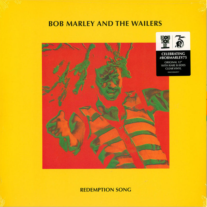 Bob Marley - Redemption Song - Vinyle Maxi Transparent