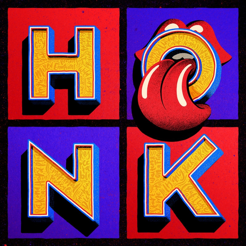 The Rolling Stones - Honk - 4 Vinyles Couleurs