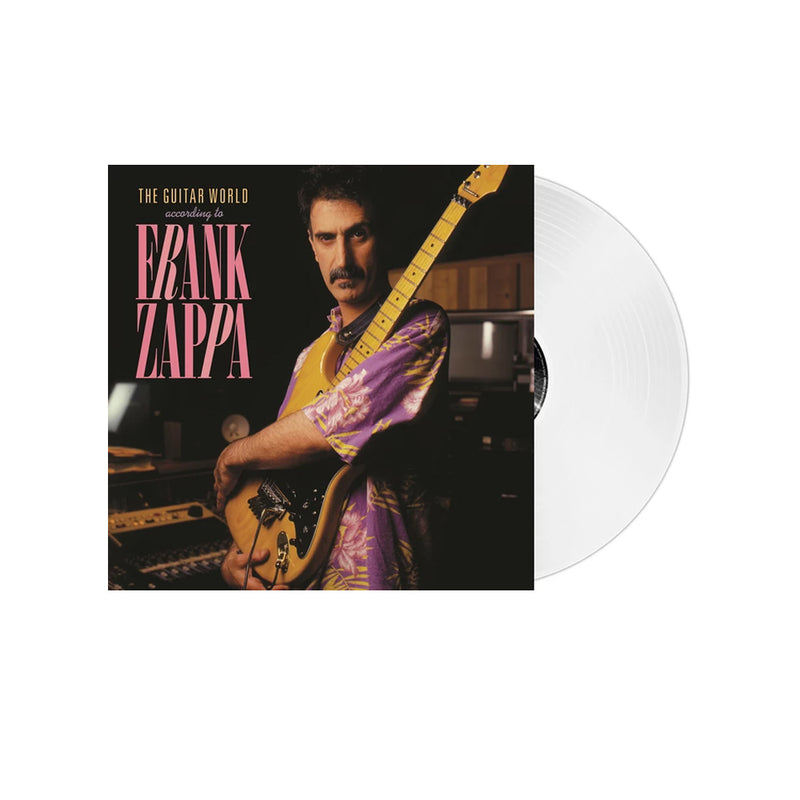 Frank Zappa - The Guitar World According To Frank Zappa - Vinyle Transparent