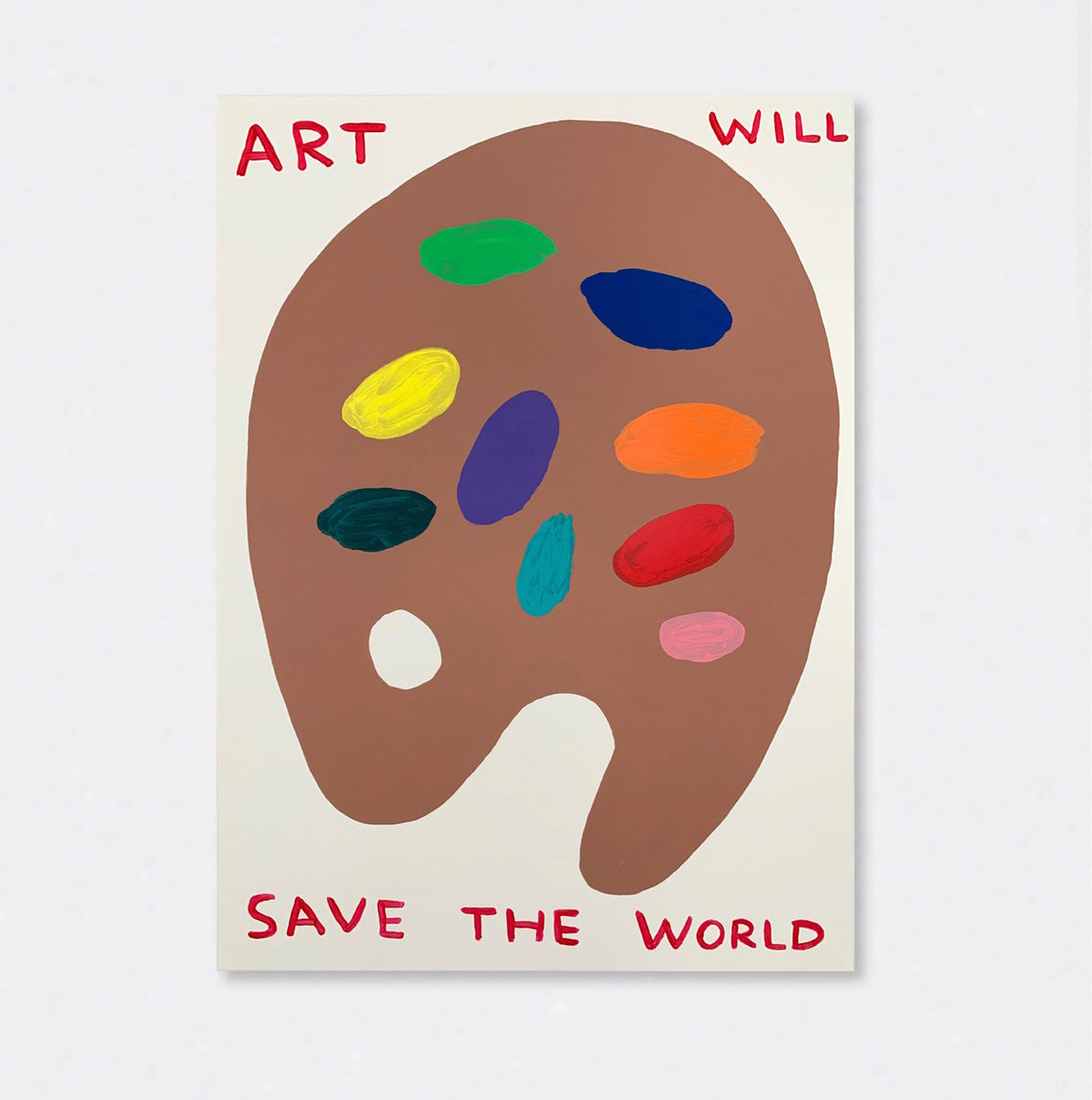 Untitled (Art Will Save The World) (2019)