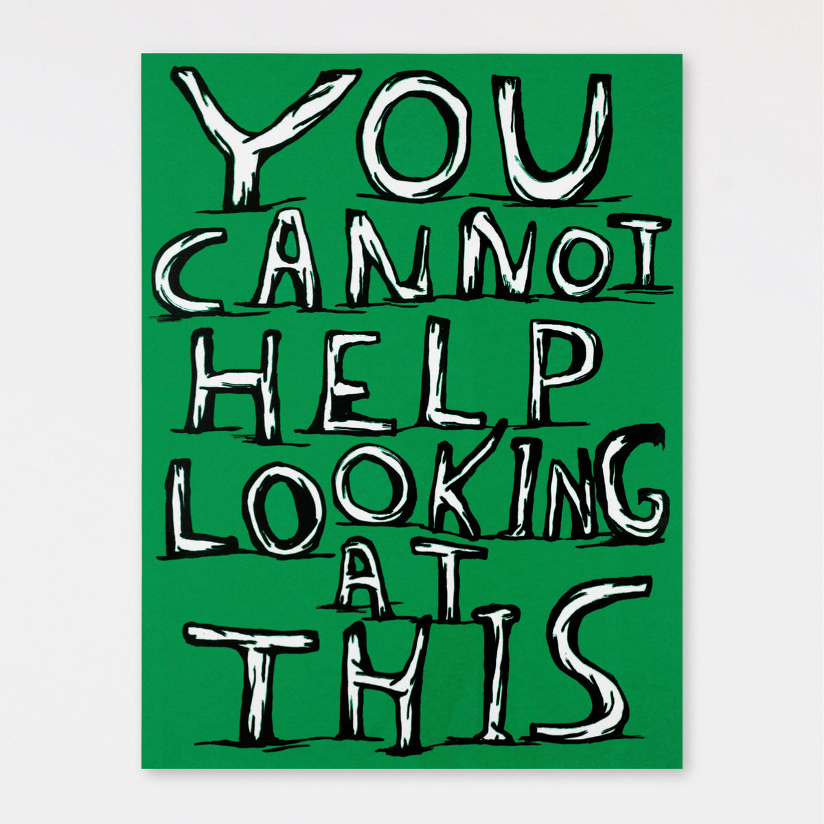 Untitled (You Cannot Help Looking at This) (2007)