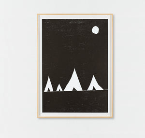 Untitled (ten woodcuts) (2008)