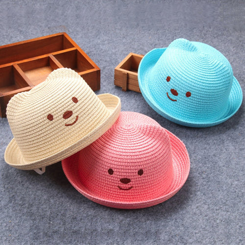 Children Breathable Straw Hat