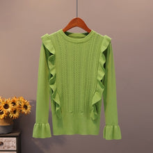 Load image into Gallery viewer, Autumn Ruffles Sweater