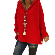 Load image into Gallery viewer, Casual Women Autumn Hooded Knitwear