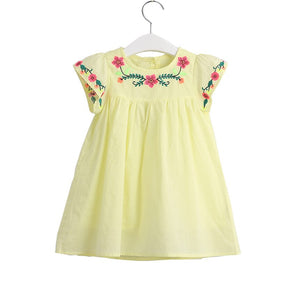 Children's Wear Girls Simple Sweet
