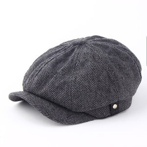 Fashion Gentleman Octagonal Cap
