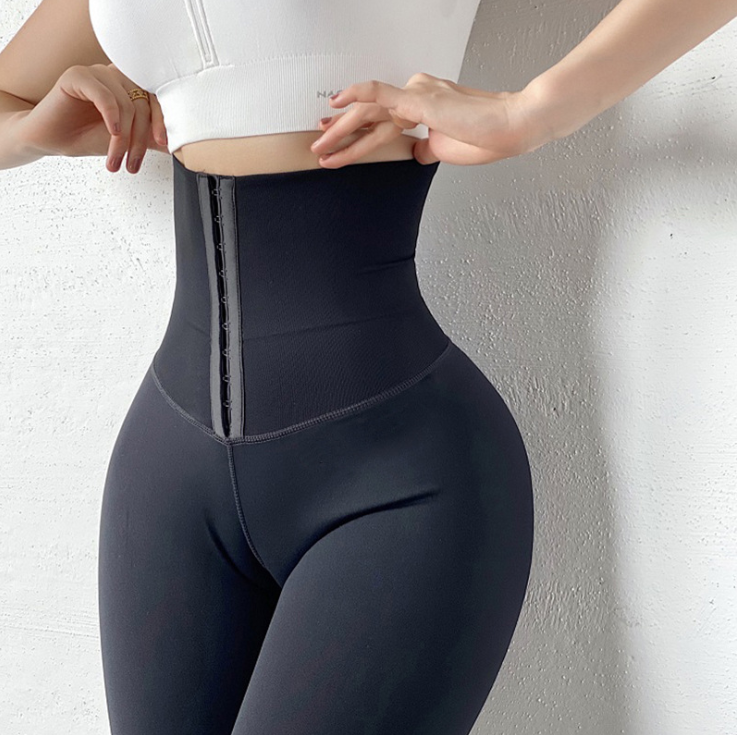 High Waist Shaper Leggings (Black)