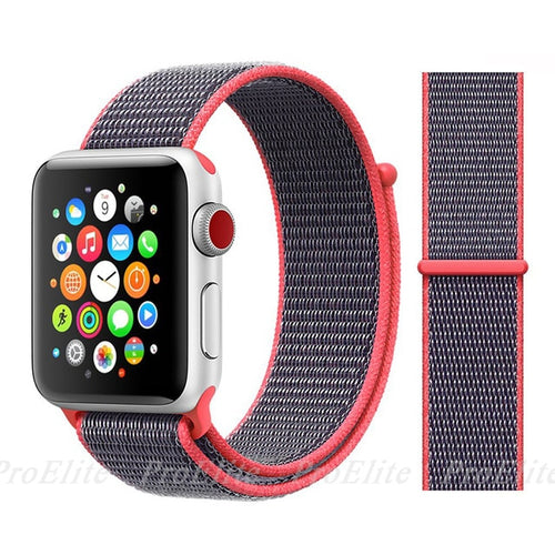 Nylon Sport Apple Watch Band