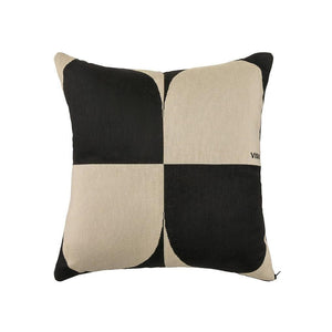 Tapestry Pillow Squares - Cream / Black - Aztro Marketplace