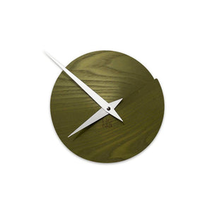 Vulcanello Wall Clock - Light Green