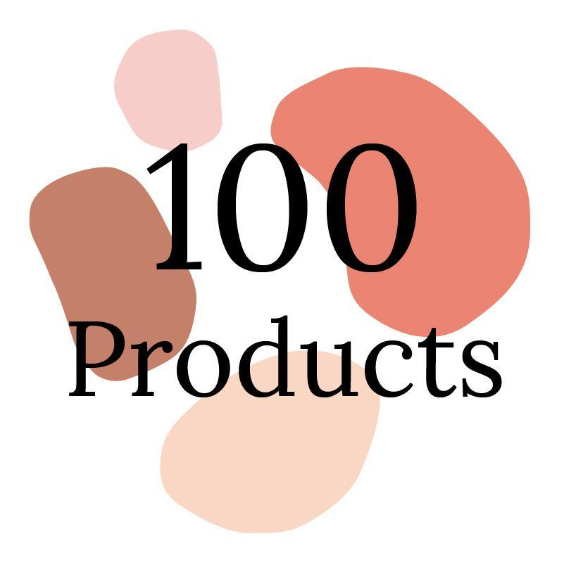 Onboarding for up to 100 Products