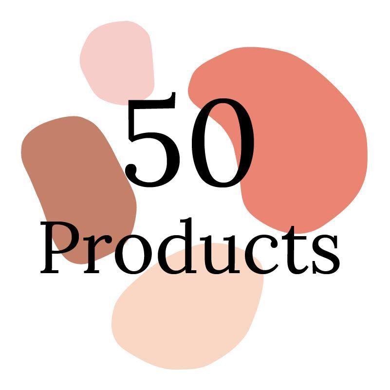 Onboarding for up to 50 Products