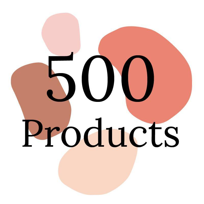 Onboarding for up to 500 Products