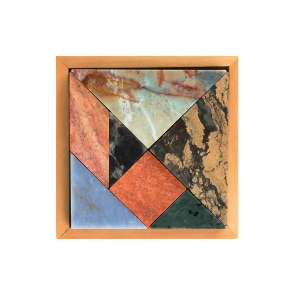 Tangram Gemstone Game