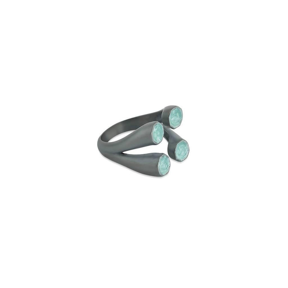 Aden Ring Four Silver - Aztro Marketplace