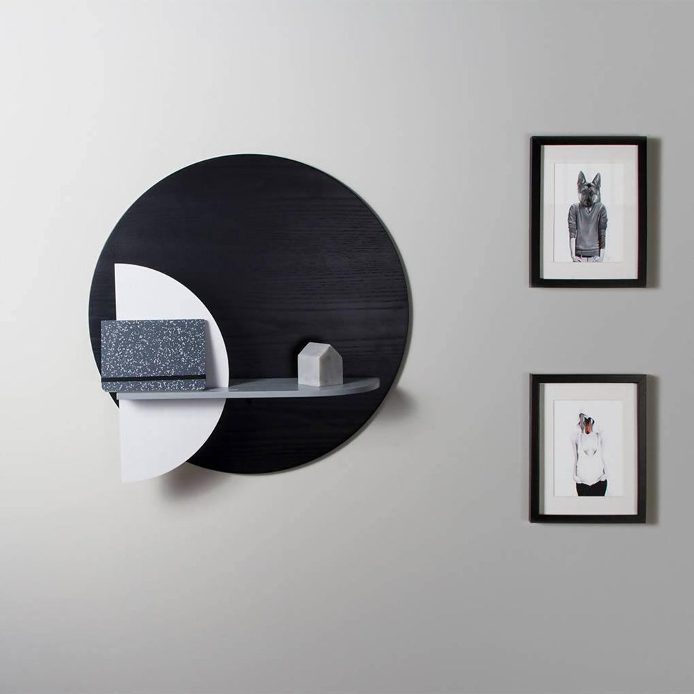 Alba Round Wall Shelf