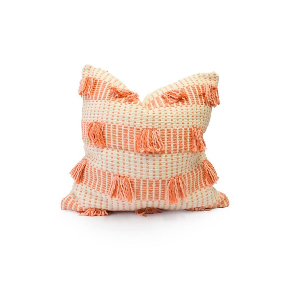 Striped Guayaba Pink Pillow