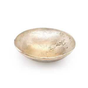 Plated Dual Bowl Brass and Nickel - Aztro Marketplace