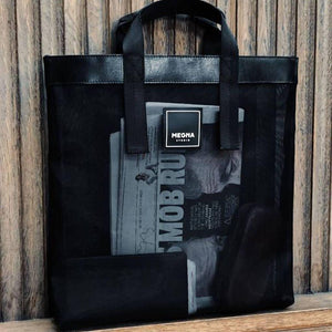 Alexa Shopper Bag - Black - Aztro Marketplace
