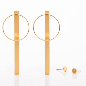 Medium OI Multifunctional Earrings