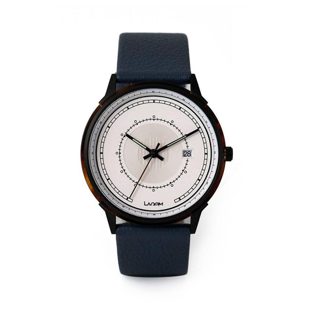 Sjo Watches Black-Silver-Navy