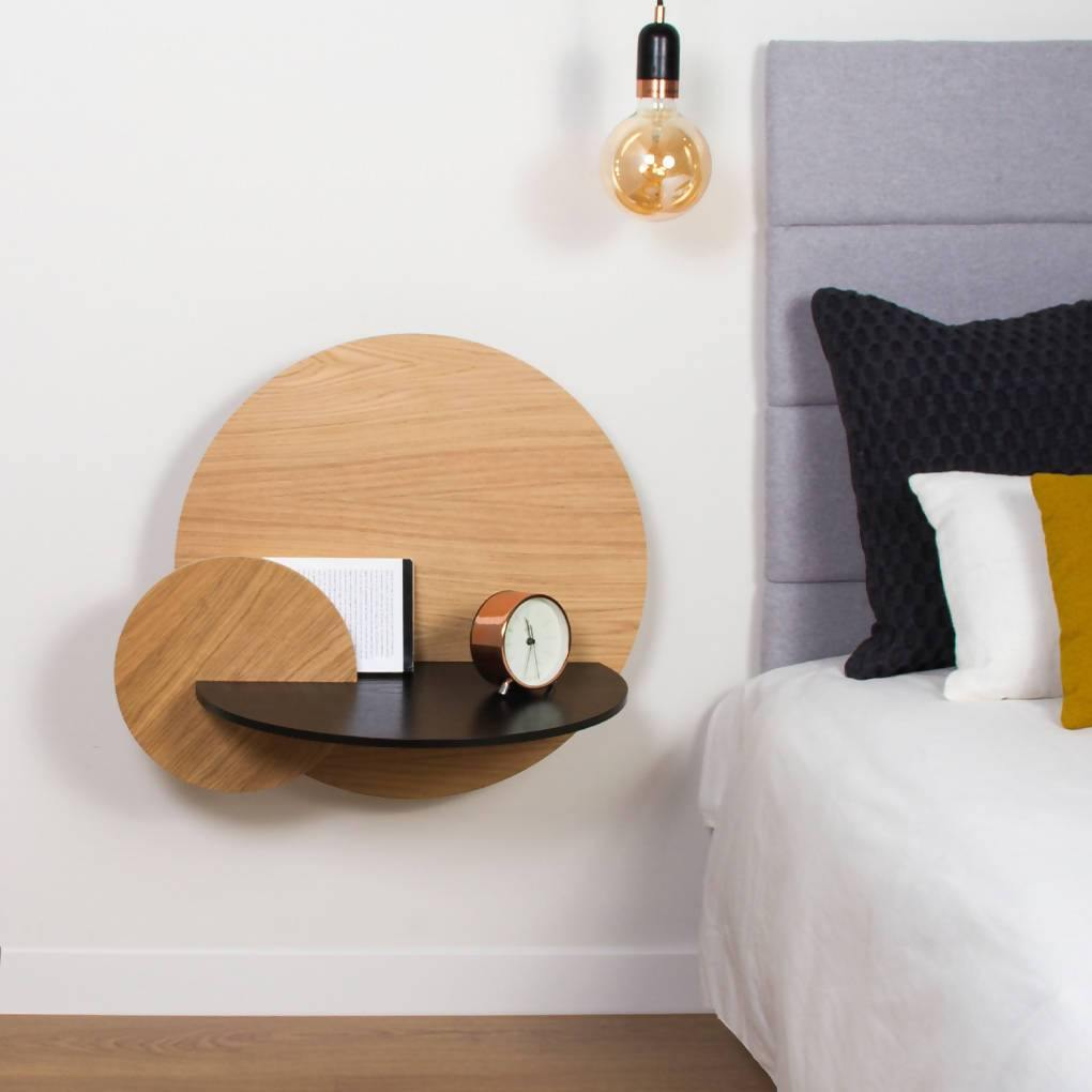 Alba Large Round Bedside Table