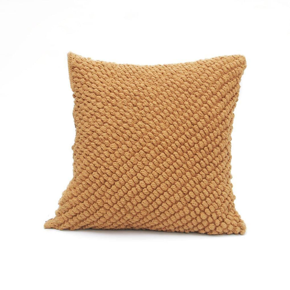 Textured Chirimoya Crochet Cushion Cover