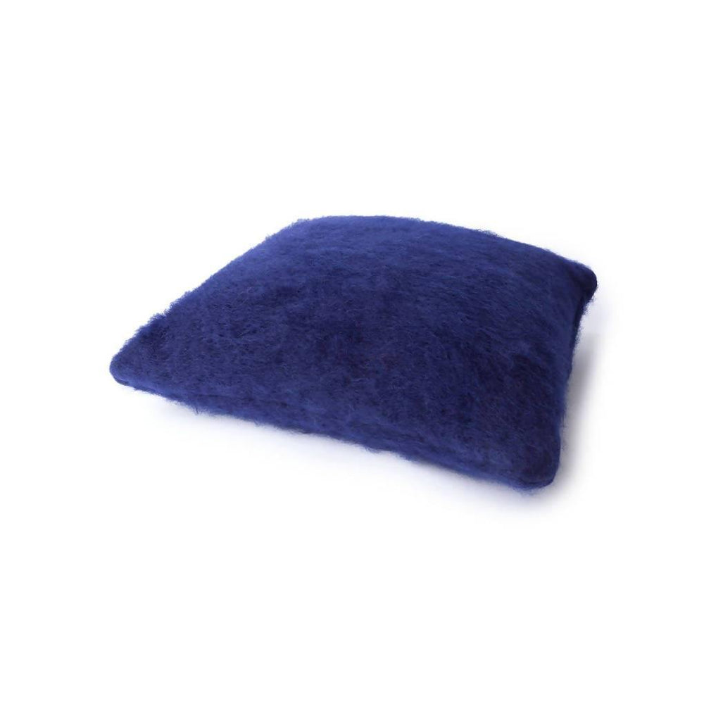 Mohair Pillow Case - Navy