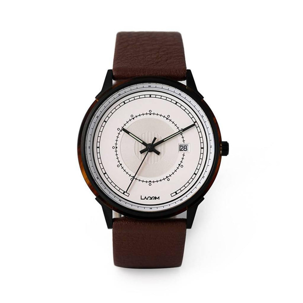 Sjo Watches Black-Silver-Brown - Aztro Marketplace