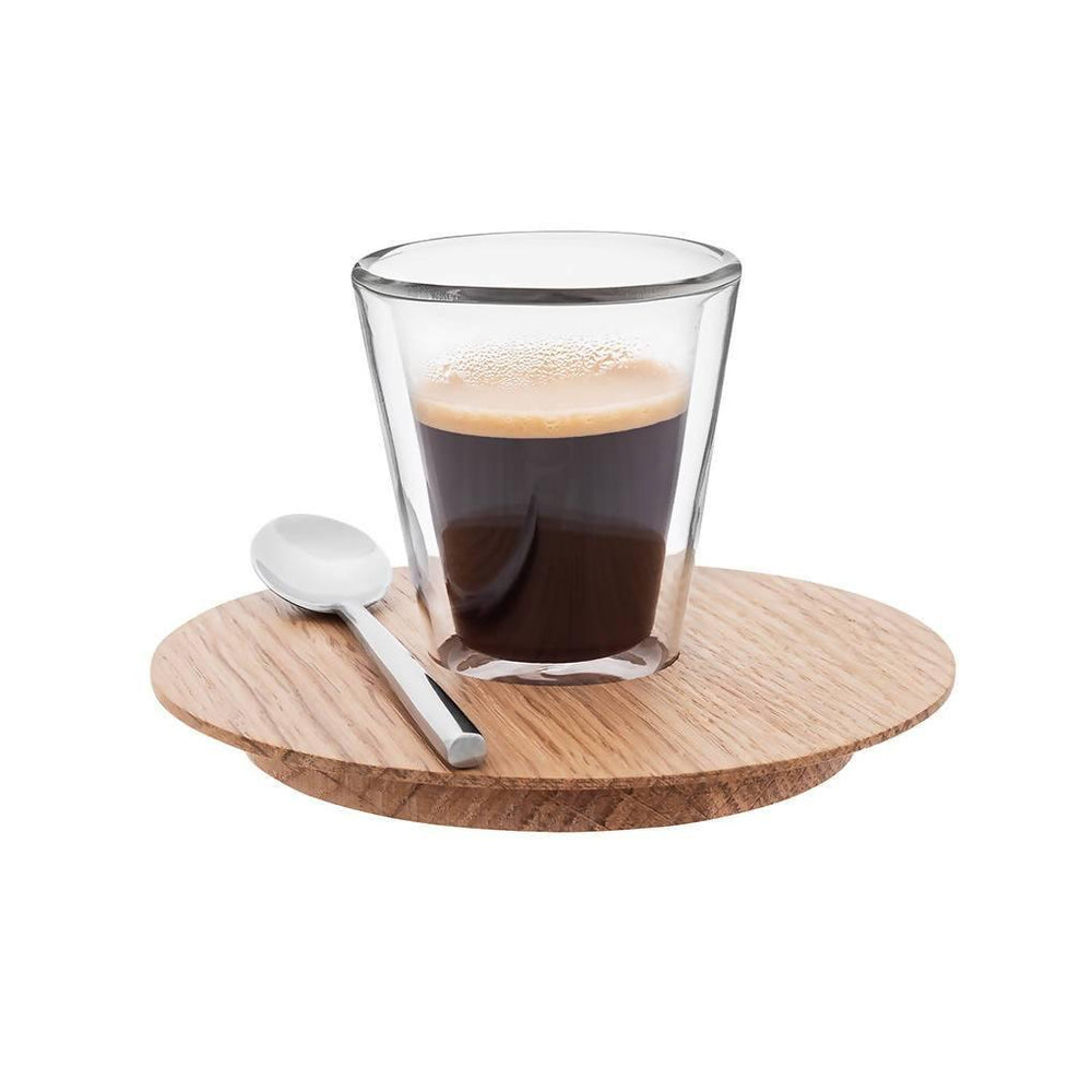 Circle Conic - Espresso set