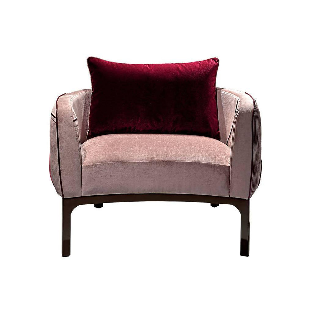 Romantic Velvet Armchair
