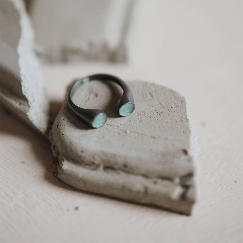 Aden Ring Duo Silver