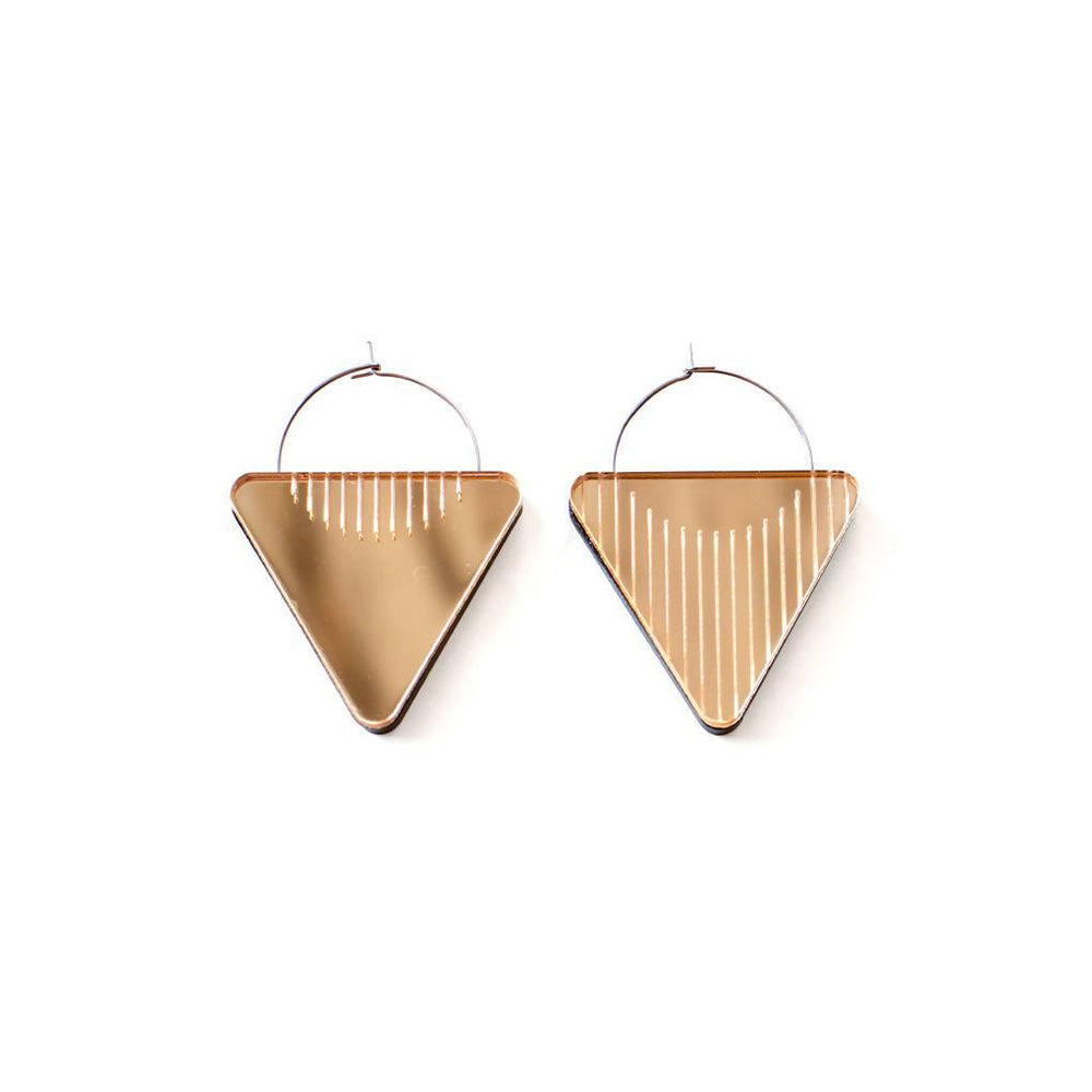 Dual Earrings - Triangle