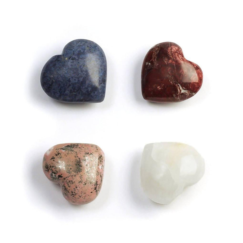Gemstone Heart Paperweight