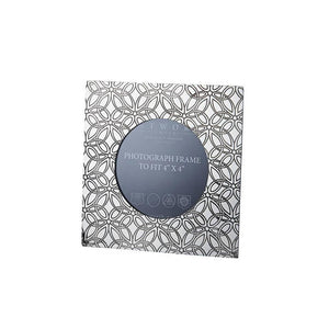 "Small Triquetra pewter 4""x4"" picture Frame"