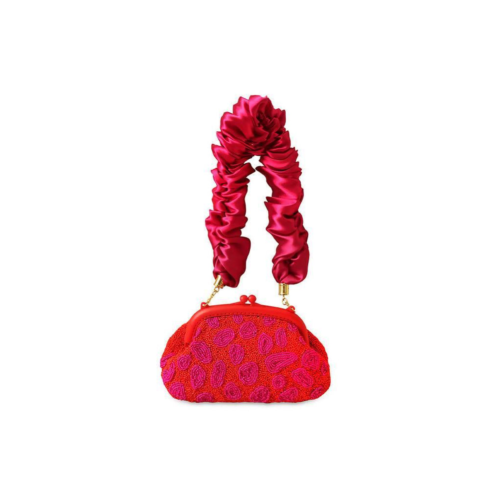Arnoldi Jean Hand-beaded Clutch
