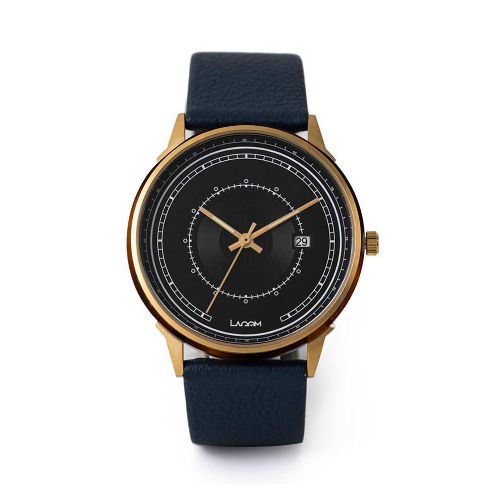 Sjo Watches Gold-Black-Navy