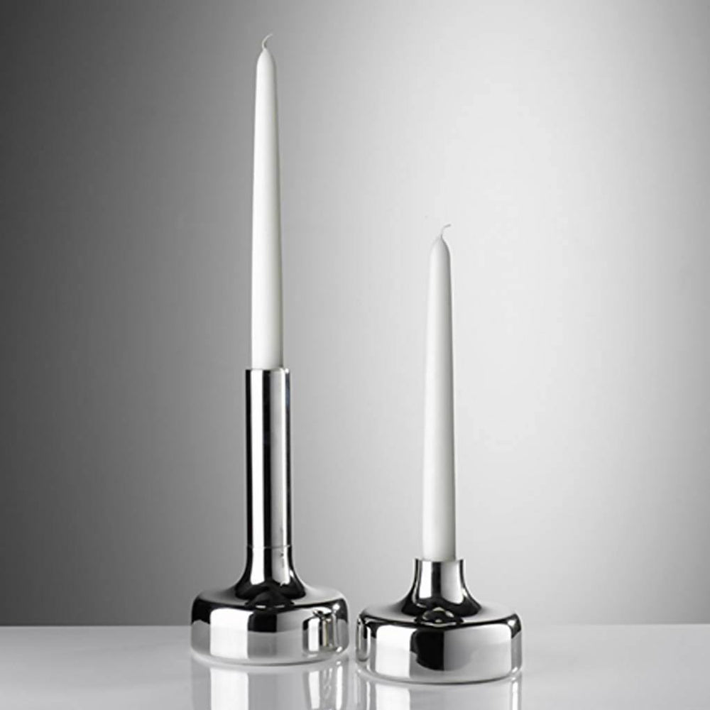 Pewter Spin Candlestick