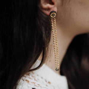 Alka Earrings Gold - Aztro Marketplace