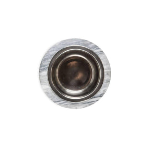Marble Bowl for Dog/Cat with Removable Steel