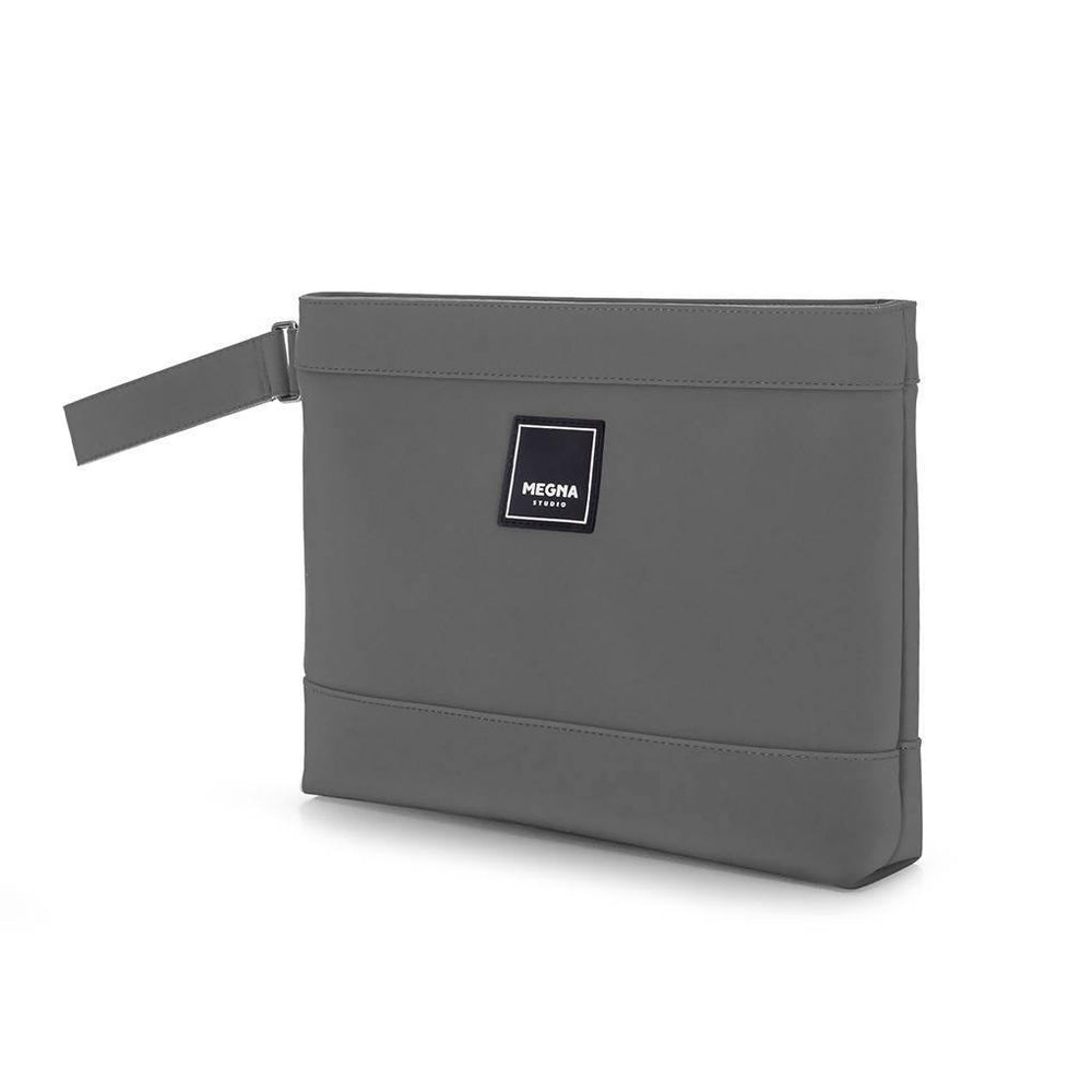 Cora Clutch - Matte Grey - Aztro Marketplace