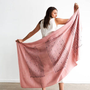 Rosewood  Throw - Aztro Marketplace