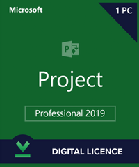 Project 2019 Professional Plus for Windows