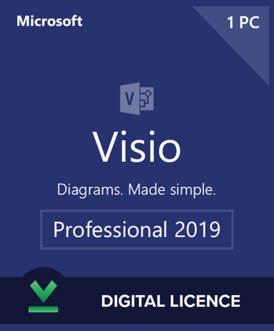 Visio 2019 Professional Plus for Windows