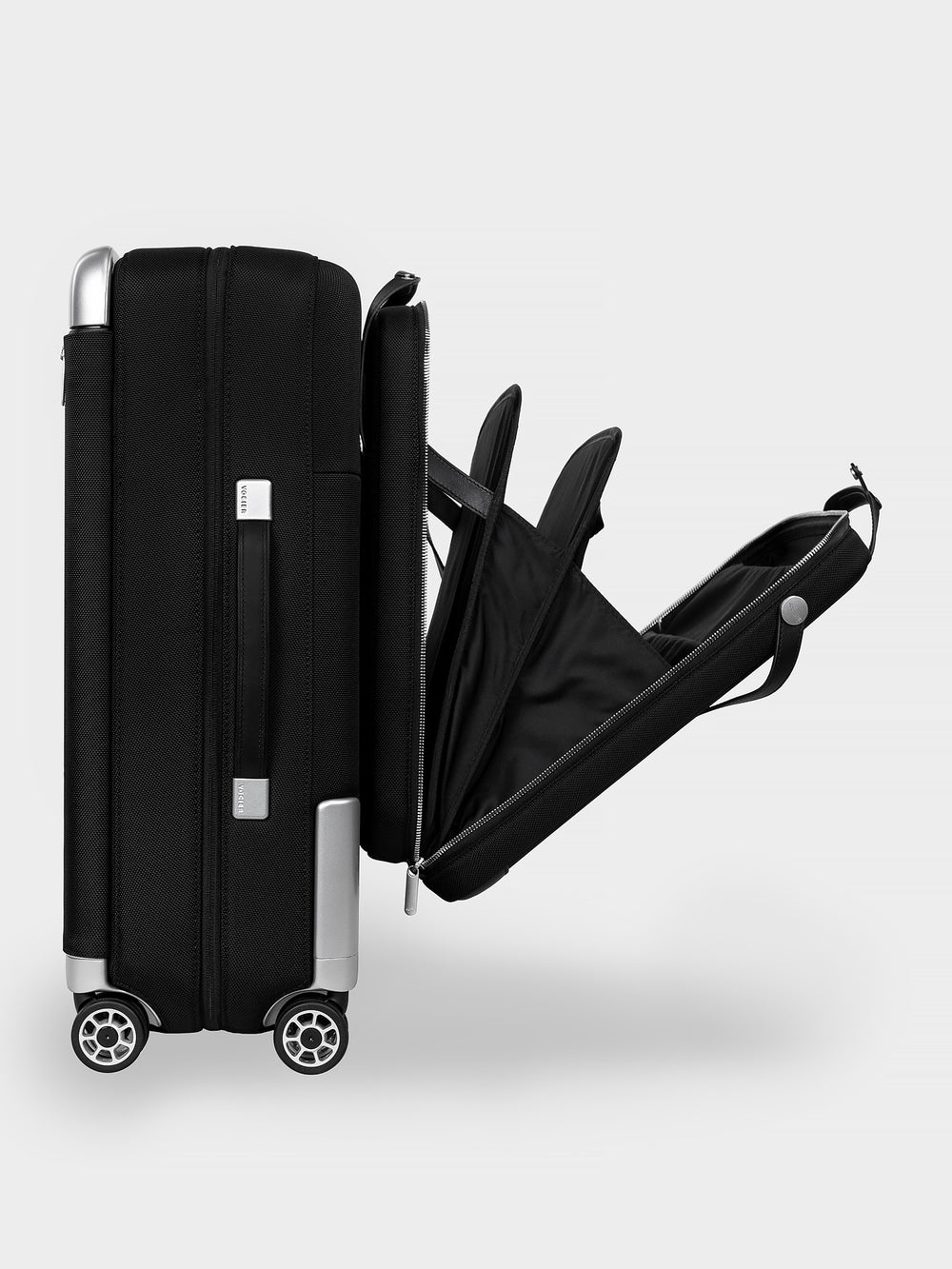 avant luggage with attachable briefcase
