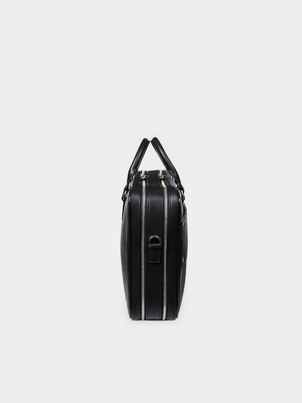 f26 black leather briefcase