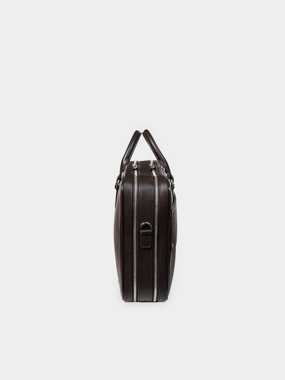f26 brown leather briefcase