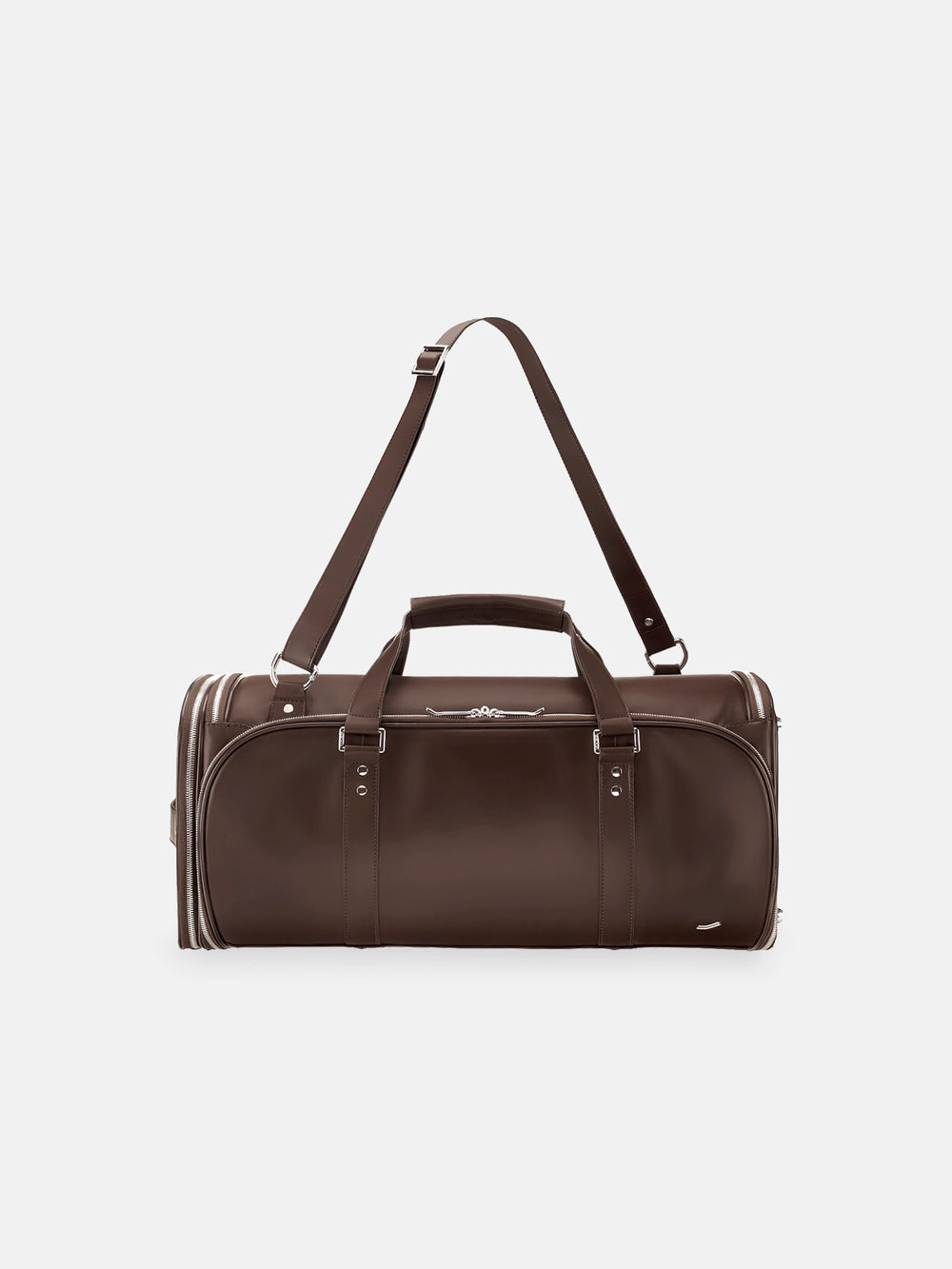f35 garment bag brown leather braunes leder