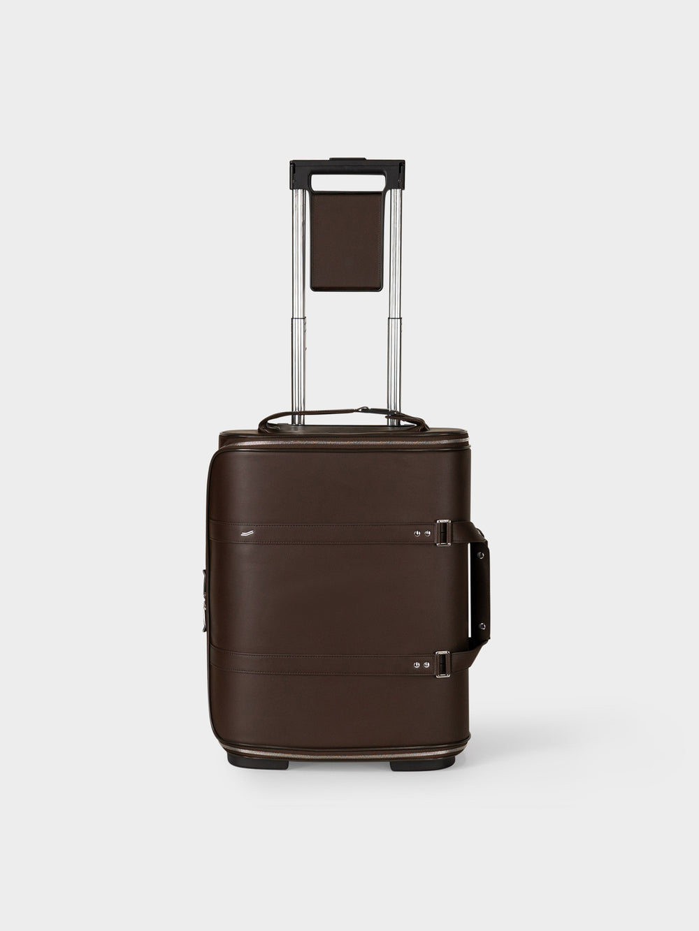 f38 carry on luggage  for business in brown leather braunes leder